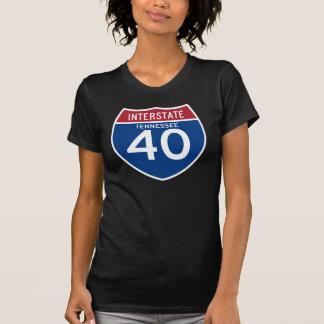 Camiseta Protetor da estrada nacional de Tennessee TN I-40