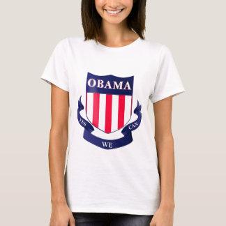 """Camiseta Protetor de Obama """"sim nós podemos"""" o t-shirt das"""