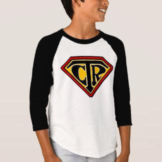 Camiseta Protetor do CTR - t-shirt do basebol da juventude