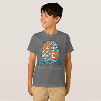 Camiseta Protetor dos cavaleiros do nome & do significado