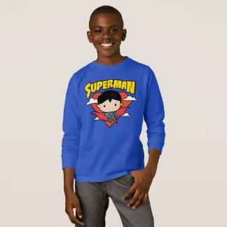 Camiseta Protetor e nome das bolinhas do superman de Chibi