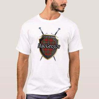 Camiseta Protetor & espadas escoceses do Tartan de