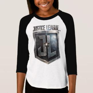 Camiseta Protetor metálico da liga de justiça   JL