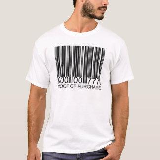 Camiseta prova