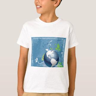 Camiseta Provérbio do indiano do Cree do ~ da terra