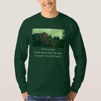 Camiseta provérbio do lakota do homem e da natureza