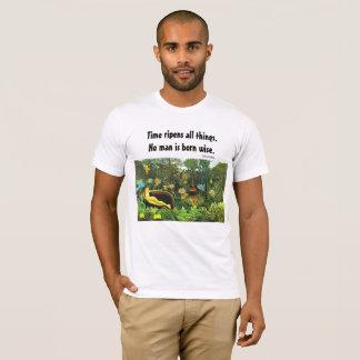 Camiseta provérbio e arte sábios