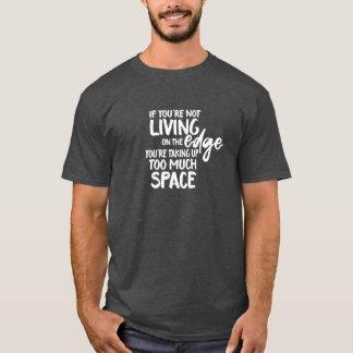 Camiseta Provérbio engraçado que vive na tipografia da