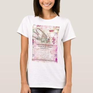Camiseta Provérbio Yiddish cómico sobre a VIDA