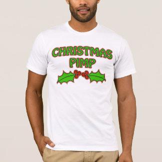 Camiseta Proxeneta do Natal - azevinho