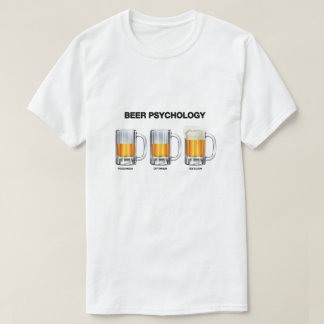 Camiseta Psicologia da cerveja