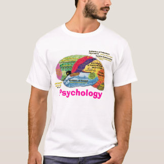 Camiseta Psicologia do cérebro