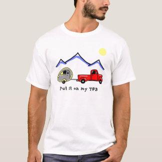 Camiseta Psto lhe sobre meu T@B