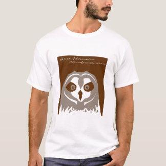 Camiseta Pueo, ou coruja orelhuda curta havaiana