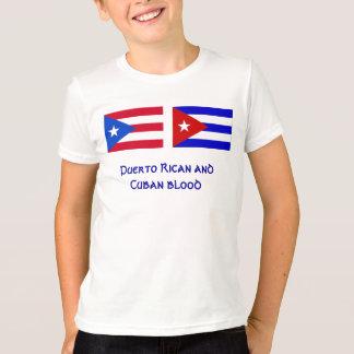 Camiseta PuertoRico_flag, Cuba_flag, porto-riquenho e Cu…