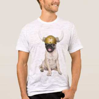 Camiseta Pug de Viking