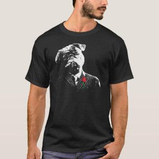 Camiseta Pug do gangster