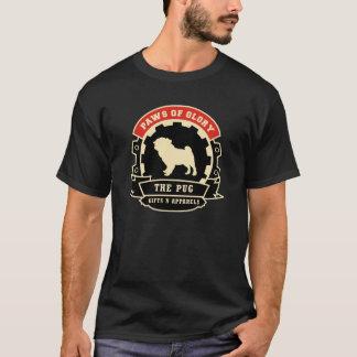 Camiseta Pug do T do homem da glória