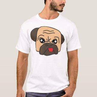 Camiseta Pug engraçado
