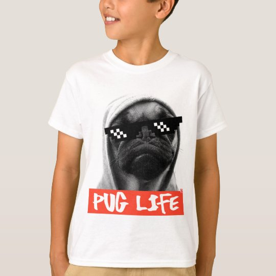 Camiseta Pug Life