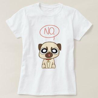 Camiseta Puggle irritado