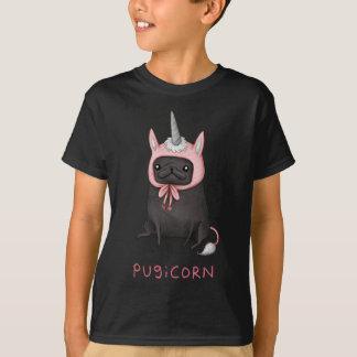 Camiseta Pugicorn - unicórnio bonito/Pug