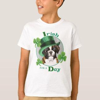 Camiseta Pugilista do dia de St Patrick