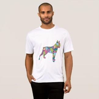 Camiseta Pugilista do t-shirt do concorrente do Esporte-Tek