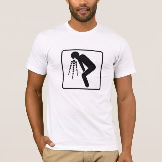 Camiseta puke (preto)
