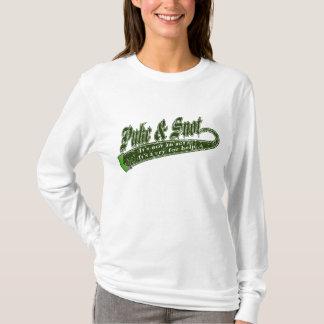 """Camiseta Puke & Snot """"não é um ato""""…."""