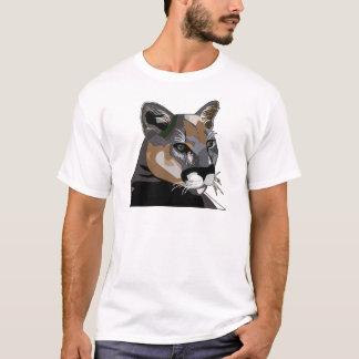 Camiseta Puma, leão de montanha, puma