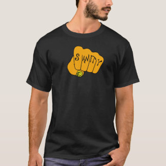 Camiseta Punho da sanidade - cor