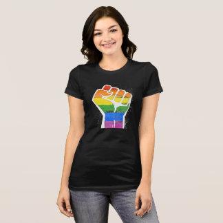 Camiseta Punho do arco-íris