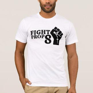 Camiseta Punho do suporte 8 da luta