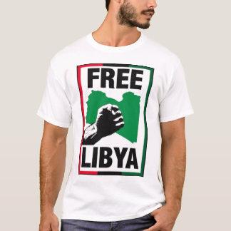 Camiseta Punho livre de Líbia