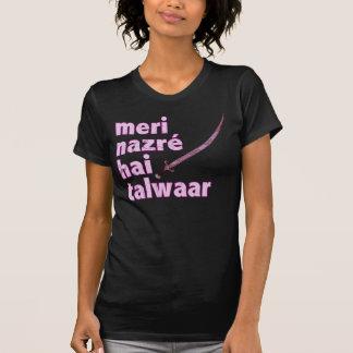 Camiseta Punjabi: Meu olhar fixo é um punhal