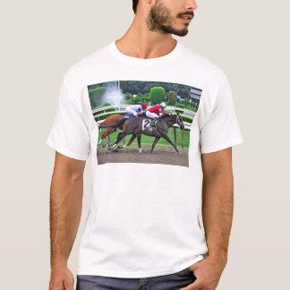Camiseta Puro-sangue que compete na pista histórica de