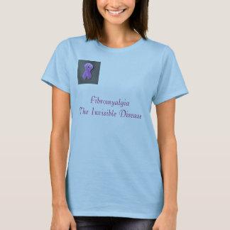 Camiseta purple_pin, doença invisível de FibromyalgiaThe