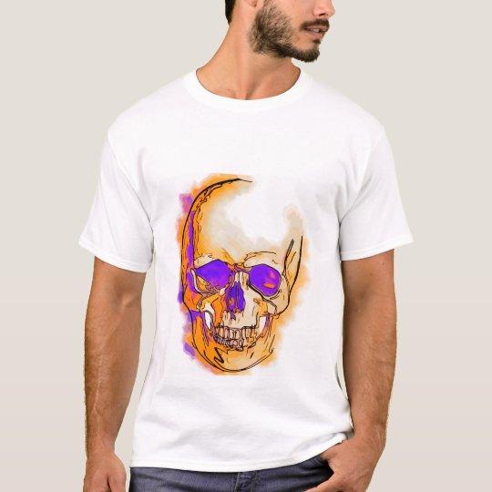 Camiseta Purple skull