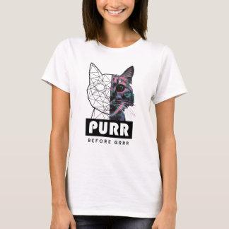 Camiseta Purr antes de GRRR
