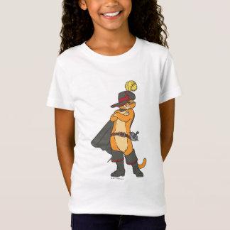 Camiseta Puss com os braços cruzados