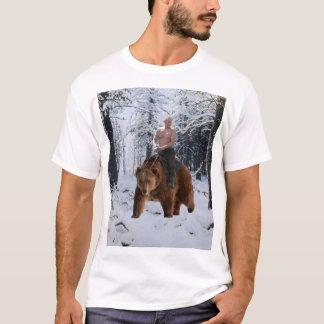 Camiseta Putin em um urso