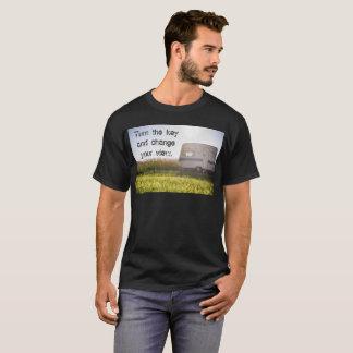 Camiseta Puxe atrás do t-shirt do fã (RV) do veículo