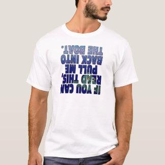 Camiseta Puxe-me no barco (os peixes)