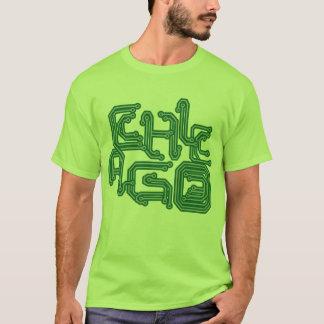 Camiseta PWB eletrônico T de Chicago - luz - verde