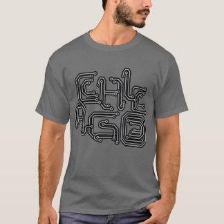 Camiseta PWB eletrônico T de Chicago - obscuridade - cinzas