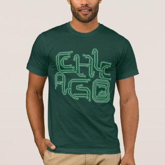 Camiseta PWB eletrônico T de Chicago - verde escuro