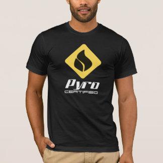 Camiseta Pyro certificado