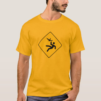 Camiseta Quadcopter de advertência