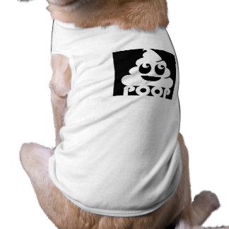 Camiseta Quadrado de Emoji Poo